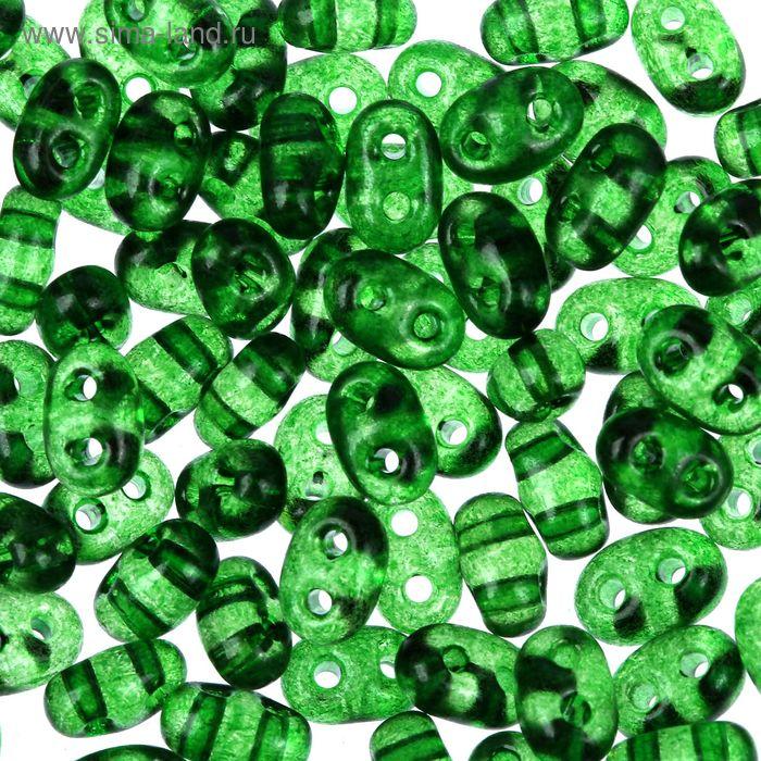 "Бисер ""GAMMA"" 2,5х5мм (Т021 зелёный)"