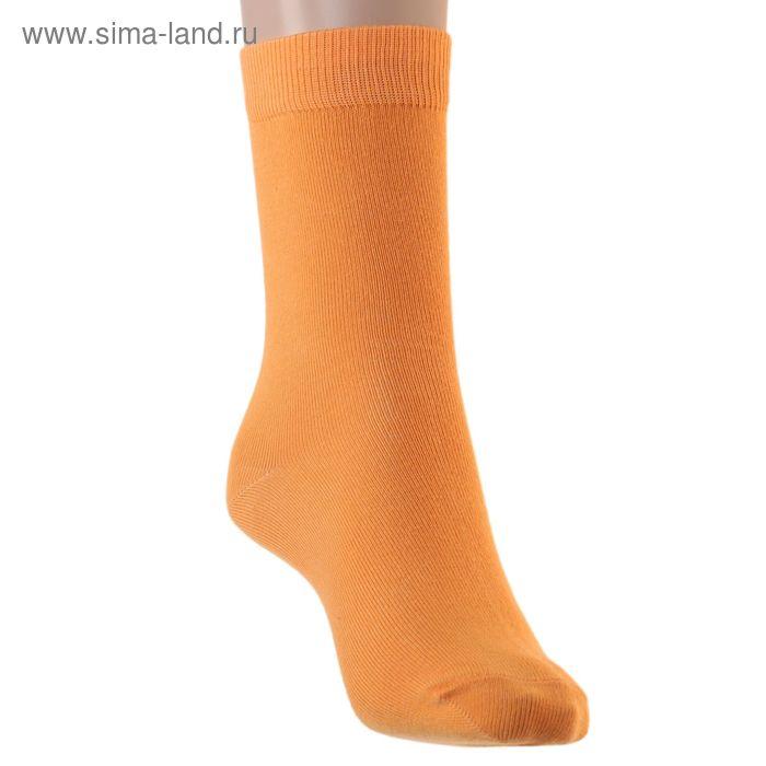 Носки детские, размер 22-24, цвет оранжевый 001/1