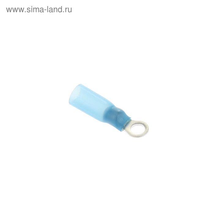 Наконечник кольцевой сечением 2,5 мм, контакт 4 мм, термоусаживаемый, НКИ-Т