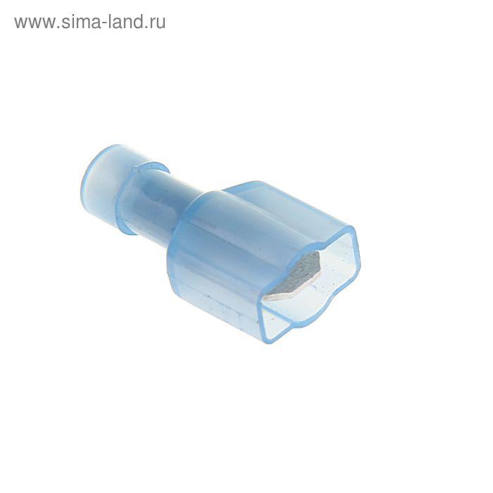 """Разъем плоский изолированный """"внешний"""" сечением 2,5 мм, 6,3 мм, нейлон, РПИ-П(н)"""