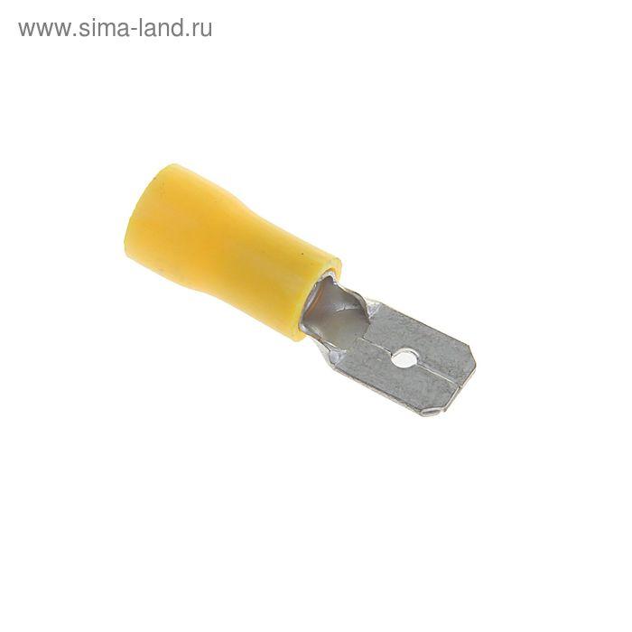 Разъем плоский изолированный внешний РПИ-П, сечением 6/6.3 мм2, ПВХ