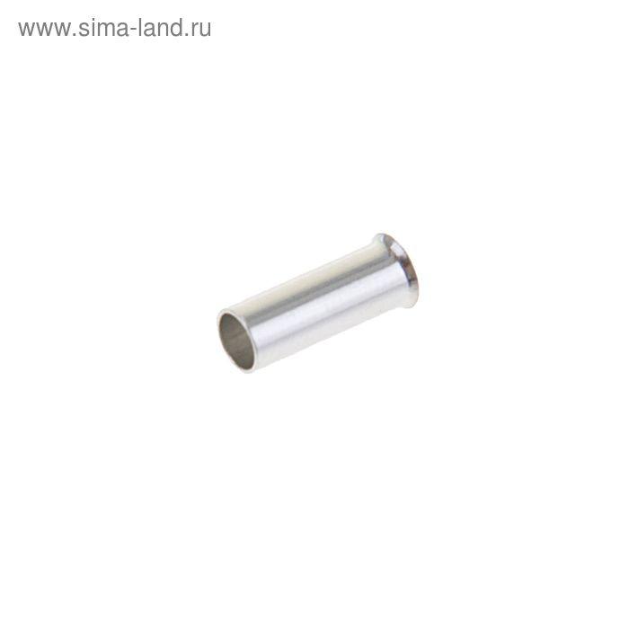 Набор втулочных наконечников, один провод, сеч. 0.5 мм2, контакт 8 мм, б/изол., НШВ, 100 шт