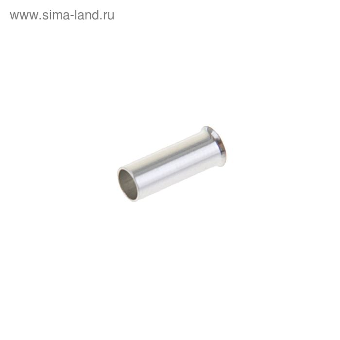 Набор втулочных наконечников, один провод, сеч. 2.5 мм2, контакт 8 мм, б/изол., НШВ, 100 шт