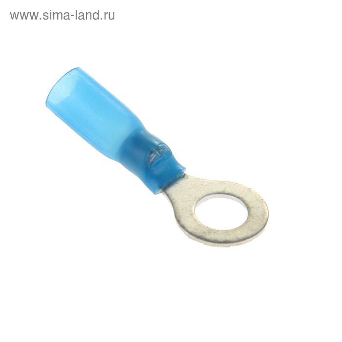 Наконечник кольцевой сечением 2,5 мм, контакт 6 мм, термоусаживаемый, НКИ-Т