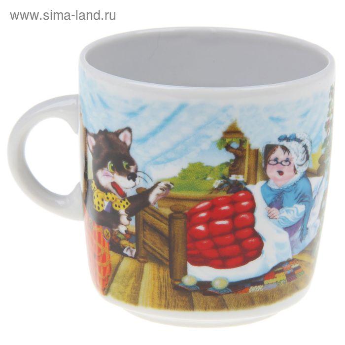 """Кружка 210 мл """"Красная шапочка"""""""