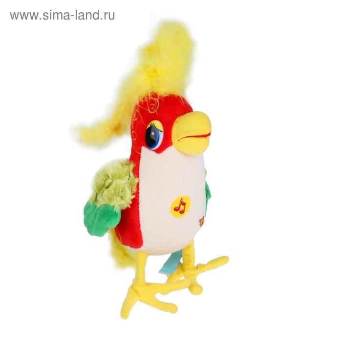 Музыкальная мягкая игрушка «Попугай»
