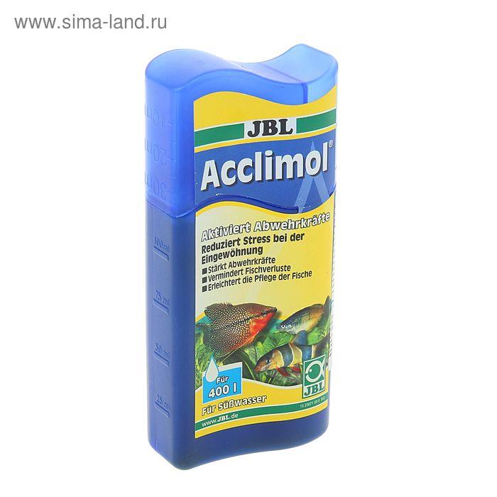 Препарат JBL Acclimol для защиты рыб при акклиматизации и для уменьшения стрессов, 100 мл.