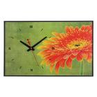 "Часы-картина ""Цветок"", 37х60 см"