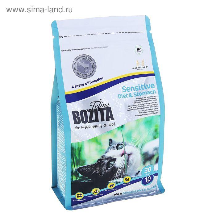 Сухой корм для кошек BOZITA Feline Funktion Sensitive Diet & Stomach 400 гр
