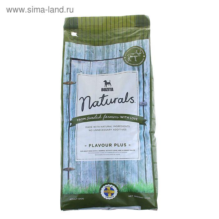 Сухой корм для собак BOZITA Flavour Plus 23/12  с оленем 12 кг