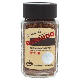Кофе Bushido Original, натуральный растворимый, сублимированный, 50 г
