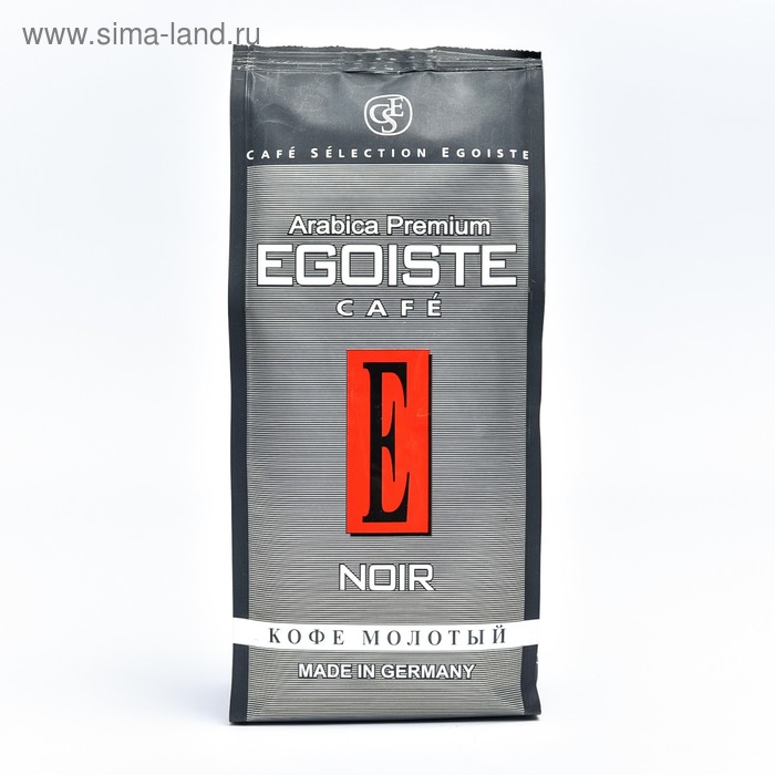 Кофе Egoist Noir, натуральный молотый, 250 г