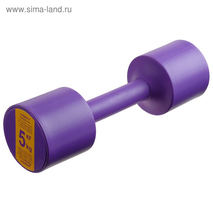 Гантель 5 кг