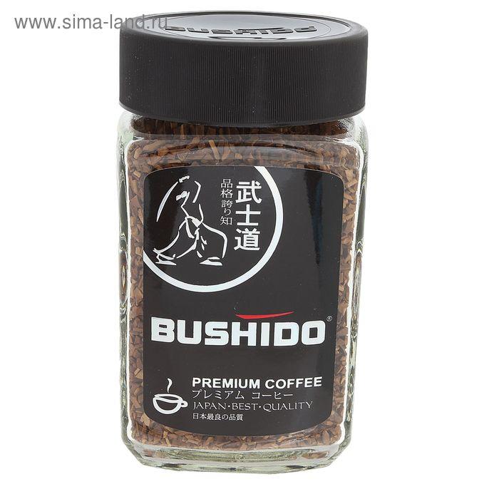 Кофе Bushido Black Katana, натуральный растворимый, сублимированный, 100 г