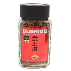Кофе Bushido Red Katana, натуральный растворимый, сублимированный, 50 г
