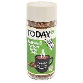 Кофе Today Green, натуральный растворимый, сублимированный, 95 г