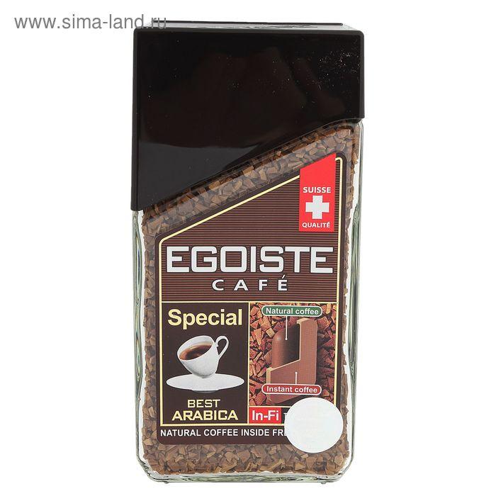 Кофе Egoist Special, натуральный растворимый, сублимированный, 100 г