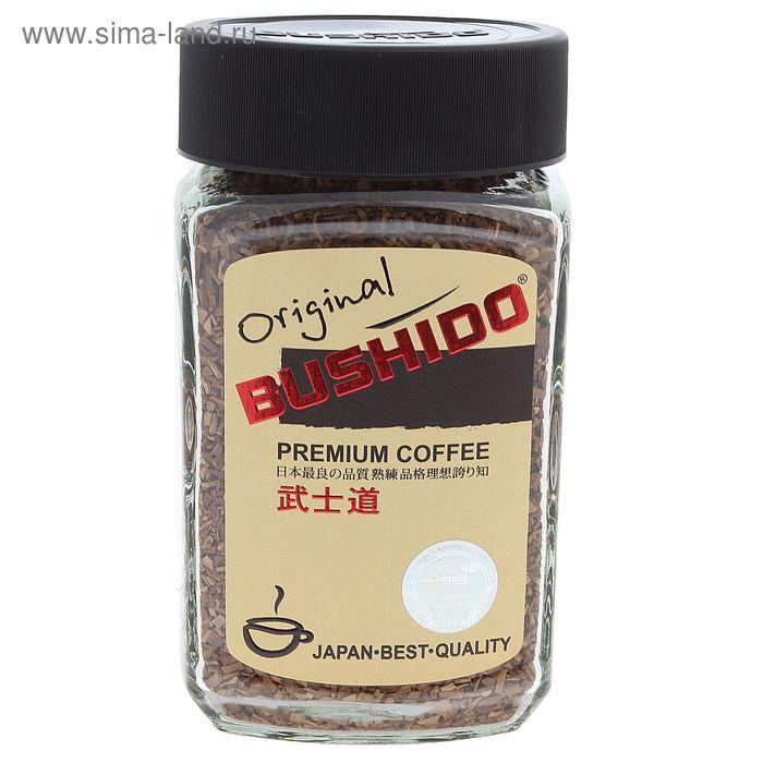 Кофе Bushido Original, натуральный растворимый, сублимированный, 100 г