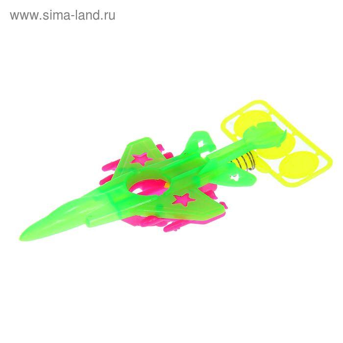 """Стрелялка """"Истребитель"""", цвета МИКС"""