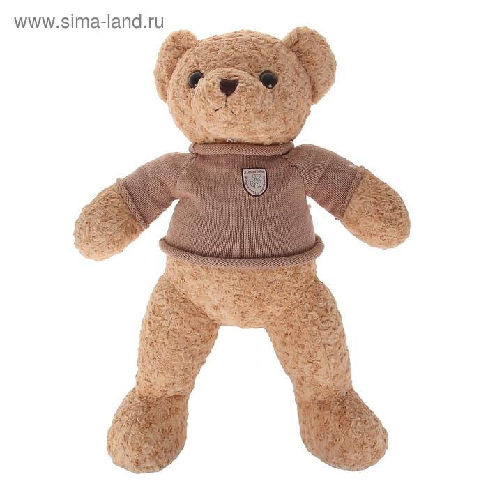 """Мягкая игрушка """"Медведь в кофте с эмблемой"""""""