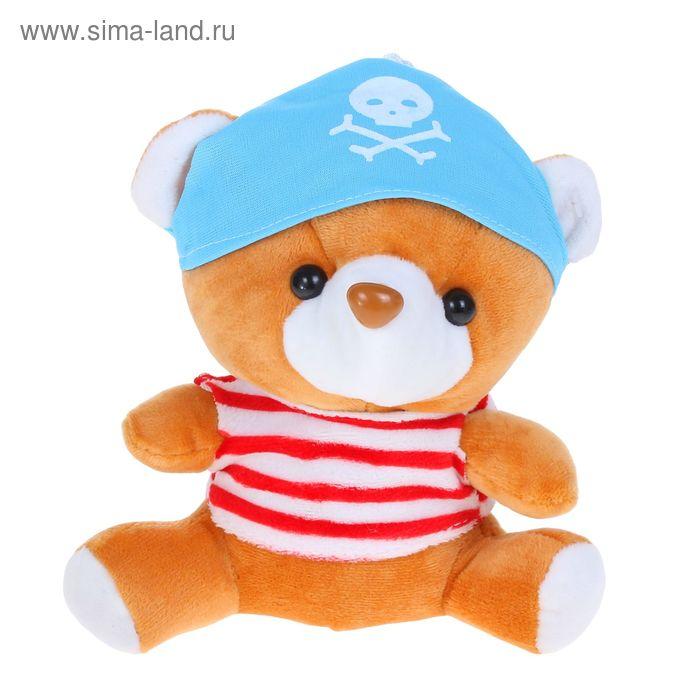 """Мягкая игрушка """"Медведь пират"""", МИКС"""
