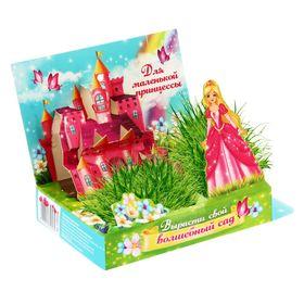 """Открытка-растущий сувенир с объем элементом """"Для маленькой принцессы"""""""