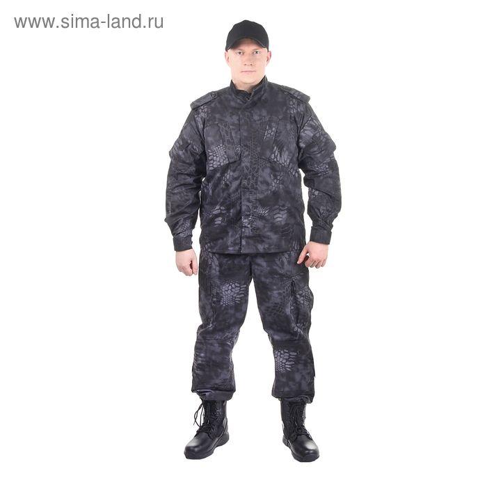 Костюм для спецназа летний МПА-04 (НАТО-1) КМФ питон ночь (тк. Мираж-210) (52/5)