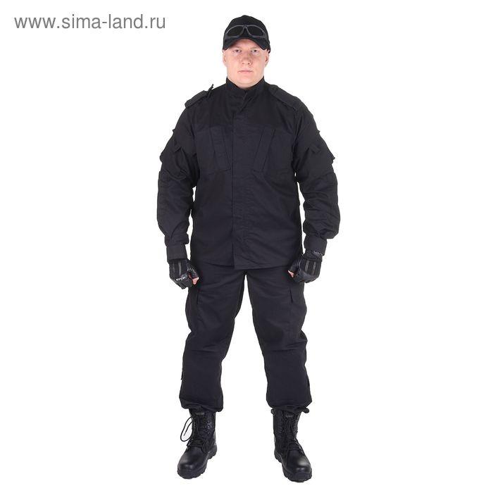 Костюм для спецназа летний МПА-04 (НАТО-1) черный (тк. Мираж-210) (50/4)