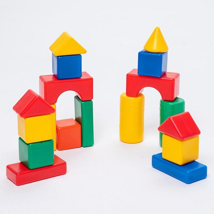 Строительный набор, 18 элементов 6 х 6 см