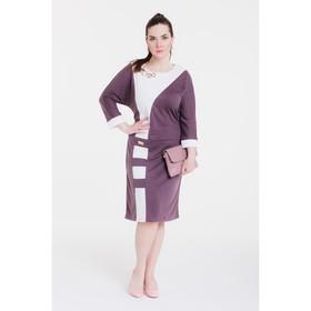 Платье женское 13-34, цвет капучино, р. 52, рост 164