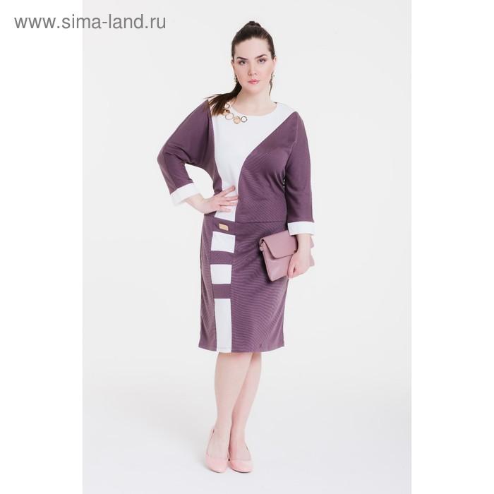 Платье женское 13-34 С+, рост 164 см (54), цвет капучино