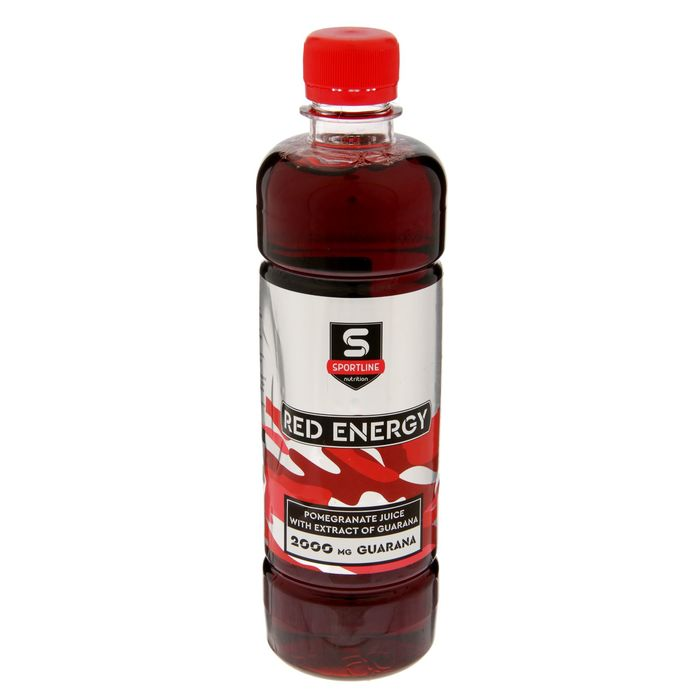 Напиток SportLine Red Energy 2000mg 500ml (Гранат)