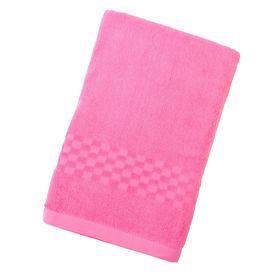 Полотенце Collorista банное однотонное, цвет светло-розовый, размер 70х140 см +/- 3 см, 400 г/м2