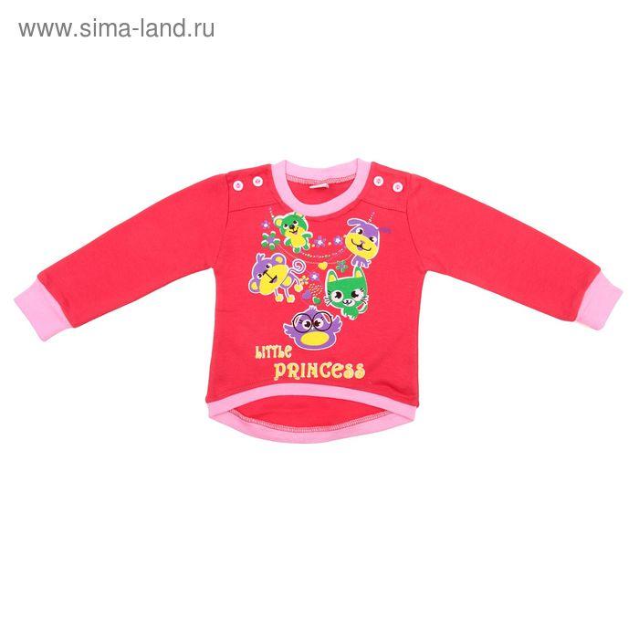 Джемпер для девочки, рост 104 см (56), цвет МИКС 5399М