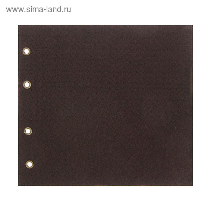 Комплект листов для горизонтального альбома под значки, ткань
