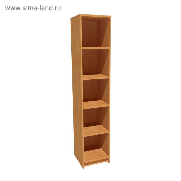 Шкаф для документов узкий открытый 400*420*2025 бук бавария