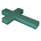 """Губка флористическая """"Виктория"""", крест на пластиковой подставке, 30 х 20 х 5 см"""