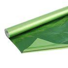 Полисилк металлизированный, салатовый, 0,5 х 10 м