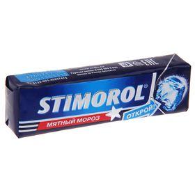 """Жевательная резинка Stimorol """"Морозная мята"""", 13,6 г"""