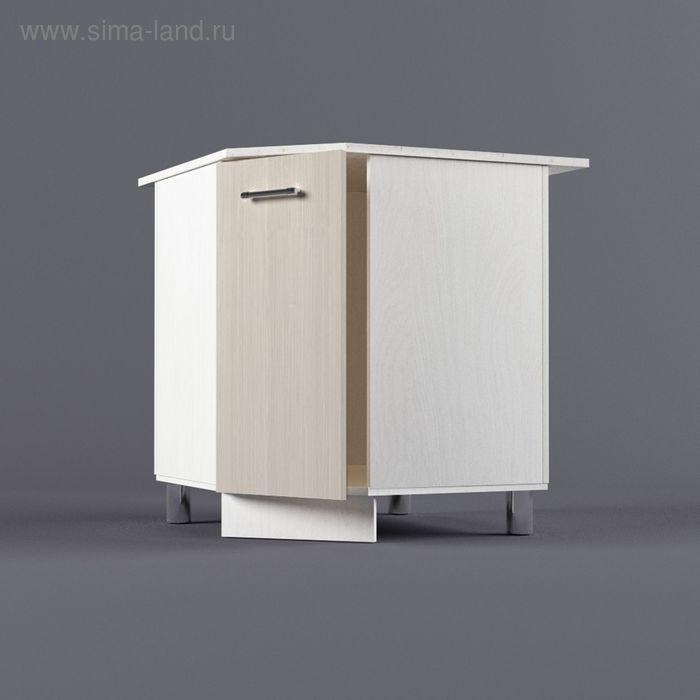 Шкаф напольный угловой 850*800*800*600 Дуб Сонома