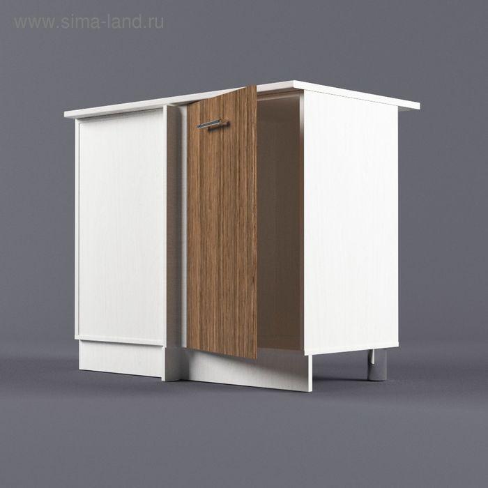 Шкаф напольный угловой левый 850*1000*600 Шимо темный