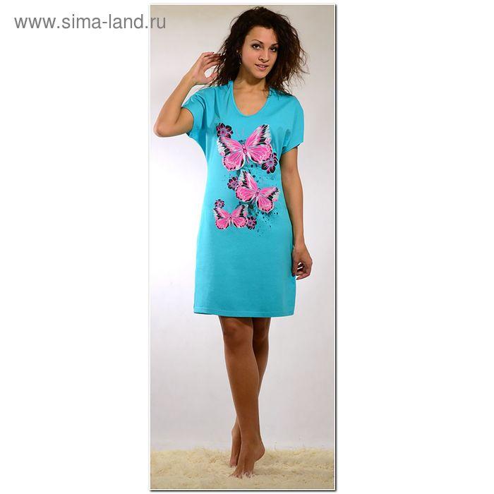Платье женское 563к бирюза, р-р 44