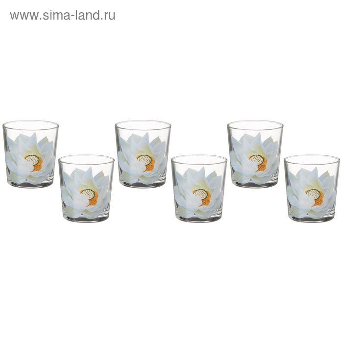 """Набор стаканов 250 мл """"Кувшинка"""", 6 шт"""
