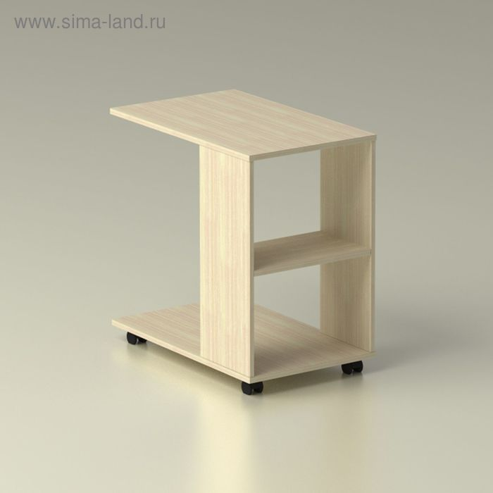 Столик прикроватный 690х425х692, дуб млечный