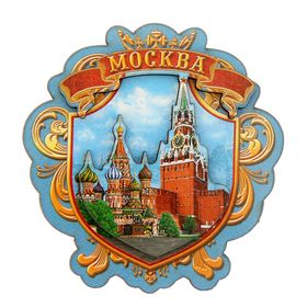 Магнит 'Москва. Красная площадь' Ош