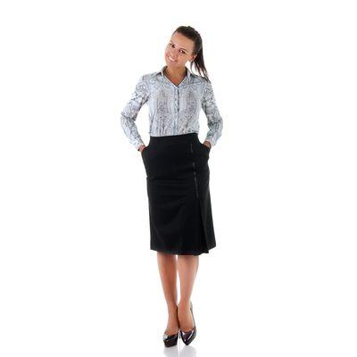 Юбка женская 450 С+, размер 60, рост 170, цвет черный