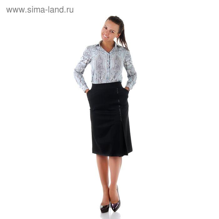 Юбка женская 450 С+, размер 56, рост 170, цвет черный