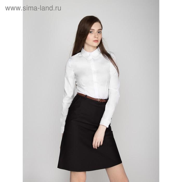 Юбка женская 324, размер 48, рост 170, цвет черный