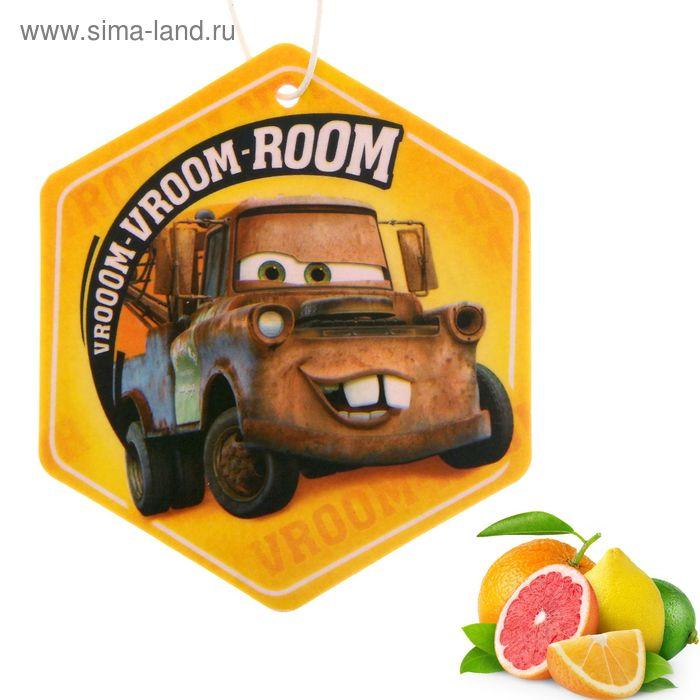 "Ароматизатор подвесной в авто ""Vrooom"", Тачки"