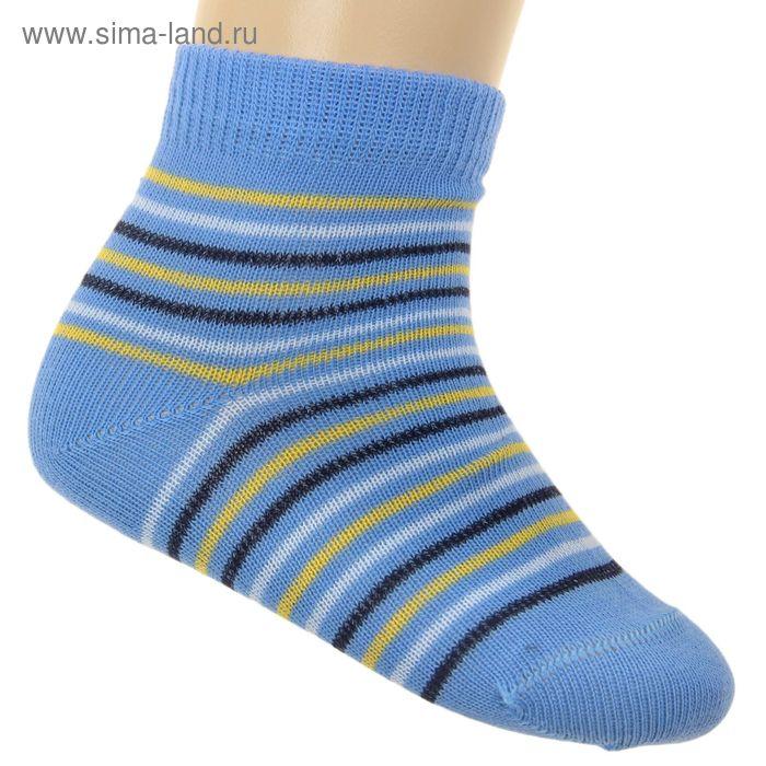 Носки детские ЛС46-2569, цвет голубой, р-р 18